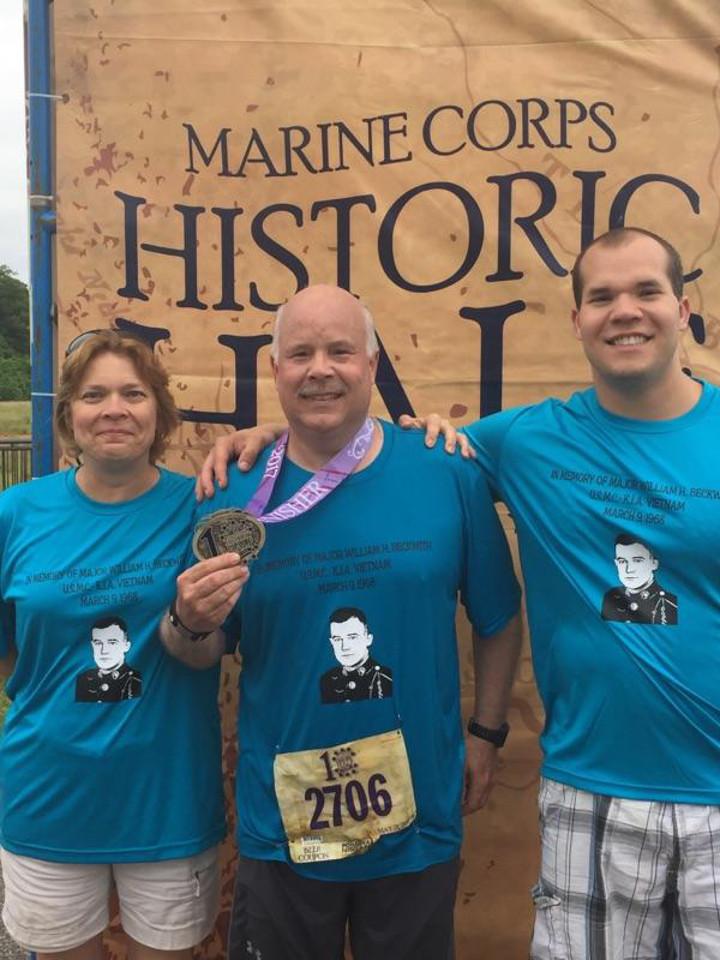 Marine Corps Half Marathon T-Shirt Photo
