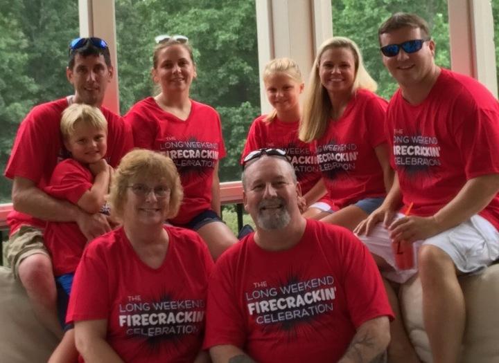 The Long Weekend 2017 Reunion T-Shirt Photo