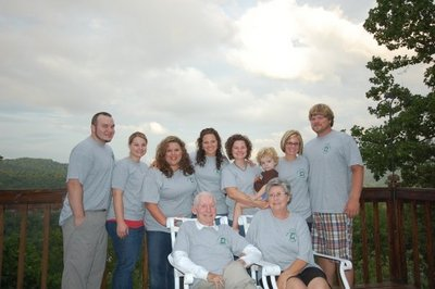 Mountain Family Reunion T-Shirt Photo