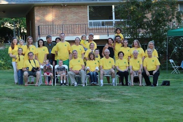 Mc Quade Brigade Family Reunion T-Shirt Photo