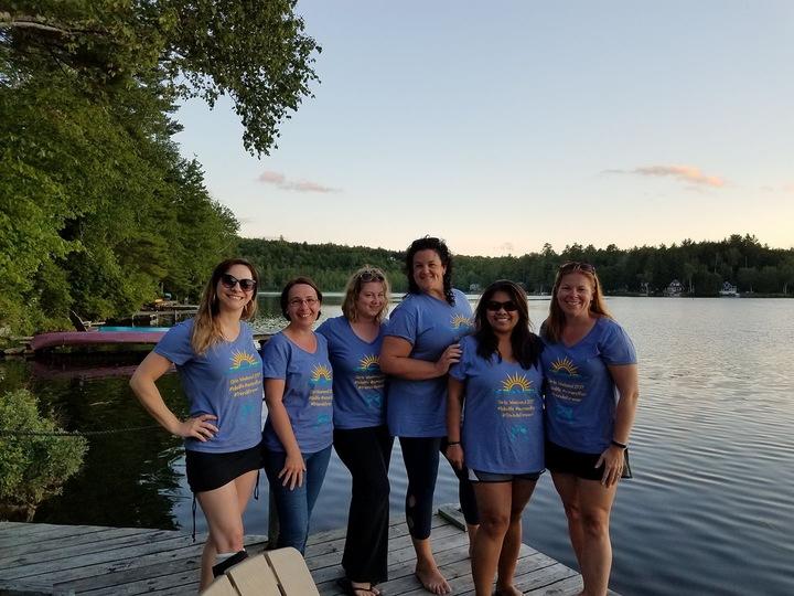 Girls Weekend #Lakelife T-Shirt Photo