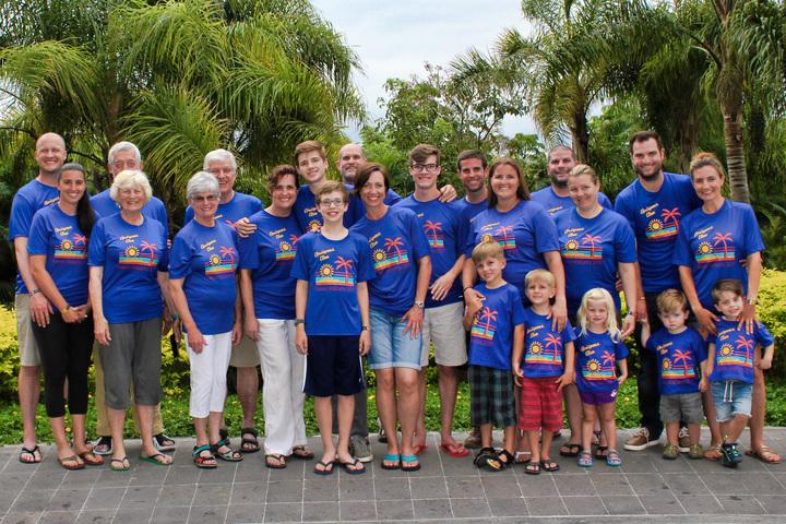 Chrispens' Clan On Nuevo Vallarta, Mexico T-Shirt Photo