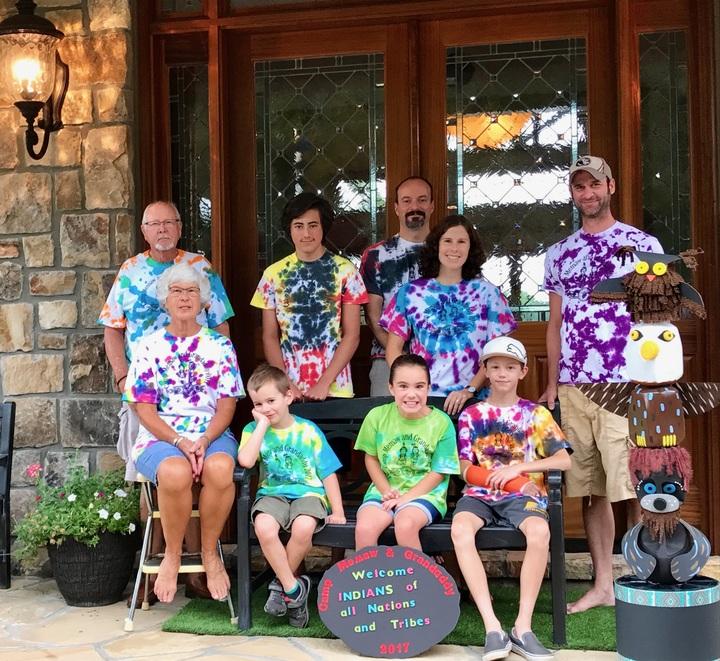 Camp Memaw And Grandaddy 2017 T-Shirt Photo