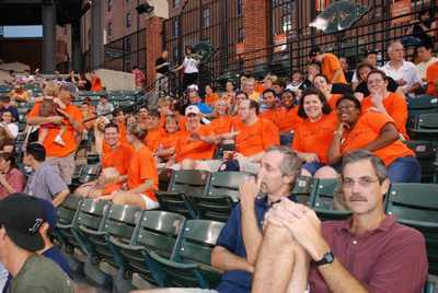 Flavo Rx At The O's Game T-Shirt Photo