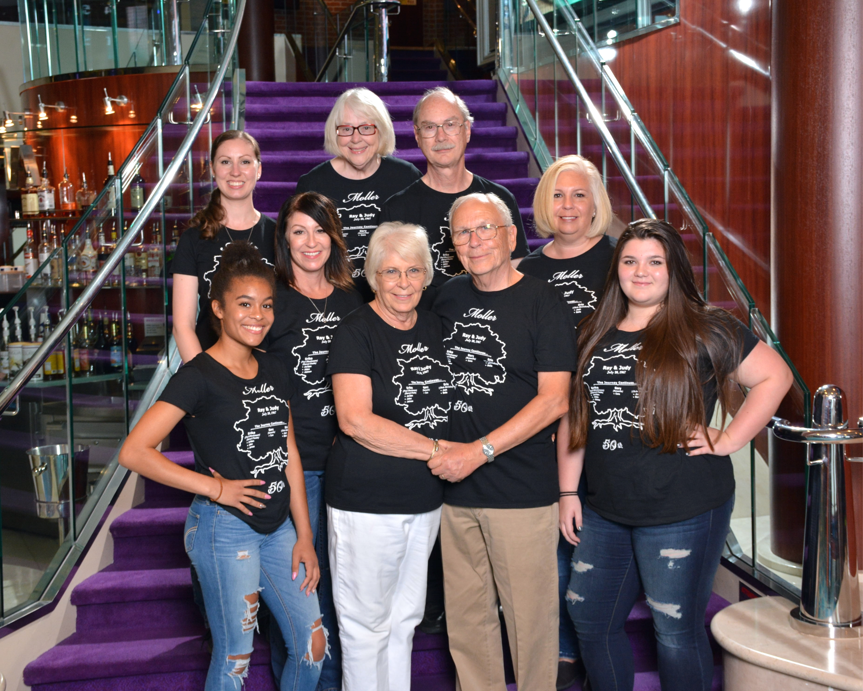 50th Anniversary Family Cruise T Shirt Photo