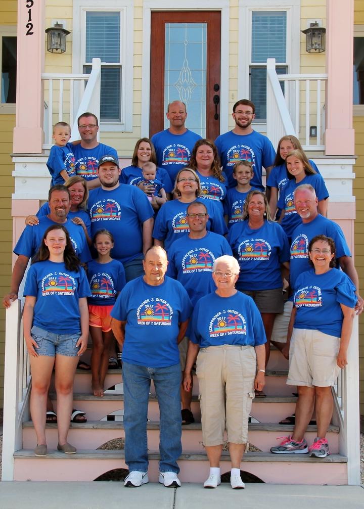 2017 Schappacher Family Vacation T-Shirt Photo