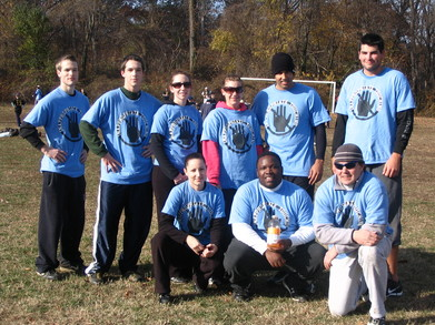 Fall Touch Football T-Shirt Photo