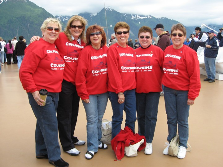 Crusing Cousins Cruise Alaska T-Shirt Photo