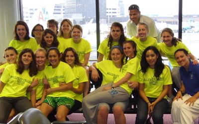 Wellesley College Soccer Brazil Trip 2009 T-Shirt Photo