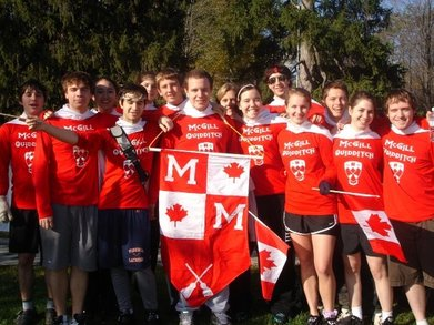 Canada Plays Quidditch T-Shirt Photo