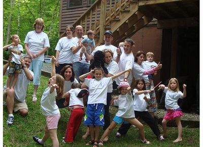 Family Fun Picture For Fundraiser T-Shirt Photo