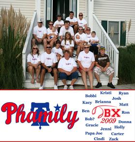 """Phamily""  Obx 2009 T-Shirt Photo"