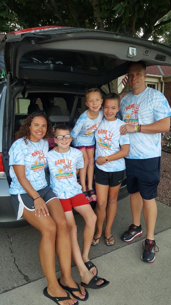 Orange Beach Al Family Vacation T Shirt Photo