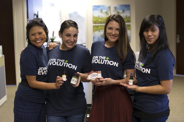 Join The Cbd Evolution With Plus Cbd Oil™ T-Shirt Photo