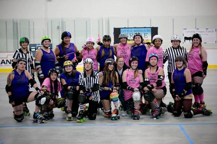 The Bakken Brawl   Roller Derby T-Shirt Photo