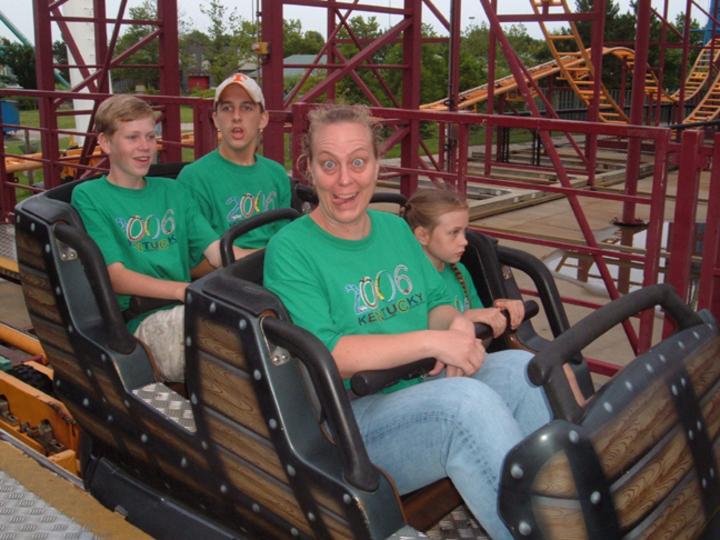 What A Ride! T-Shirt Photo