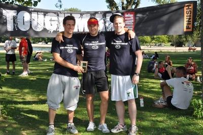 Team Tri Musketeers T-Shirt Photo