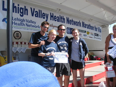 Lehigh Valley Relay Marathon For Via 9 13 09 T-Shirt Photo