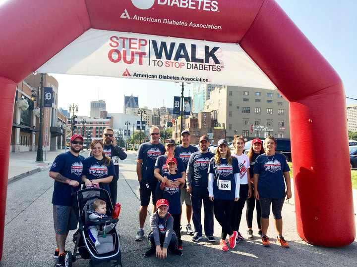 Bakes & Kropp Steps Out To Stop Diabetes T-Shirt Photo