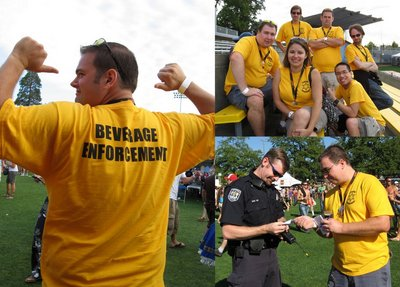 Team Beverage Enforcement T-Shirt Photo