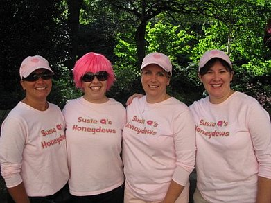 Team Susie Q's Honeydews T-Shirt Photo