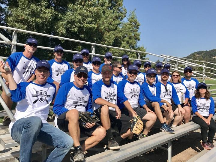 Carle's Crushers Softball Team T-Shirt Photo