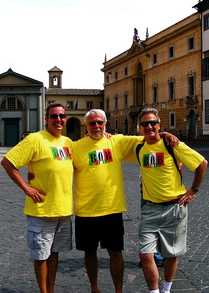 Making Friends With A T Shirt In Orvieto, Italy T-Shirt Photo