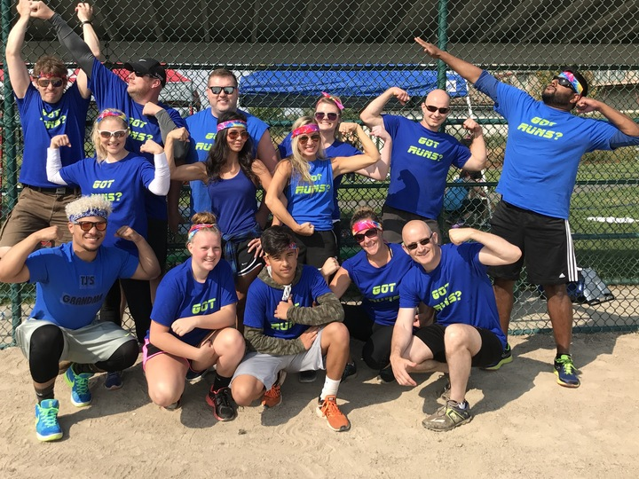We Got The Runs! Kickball Champs! T-Shirt Photo