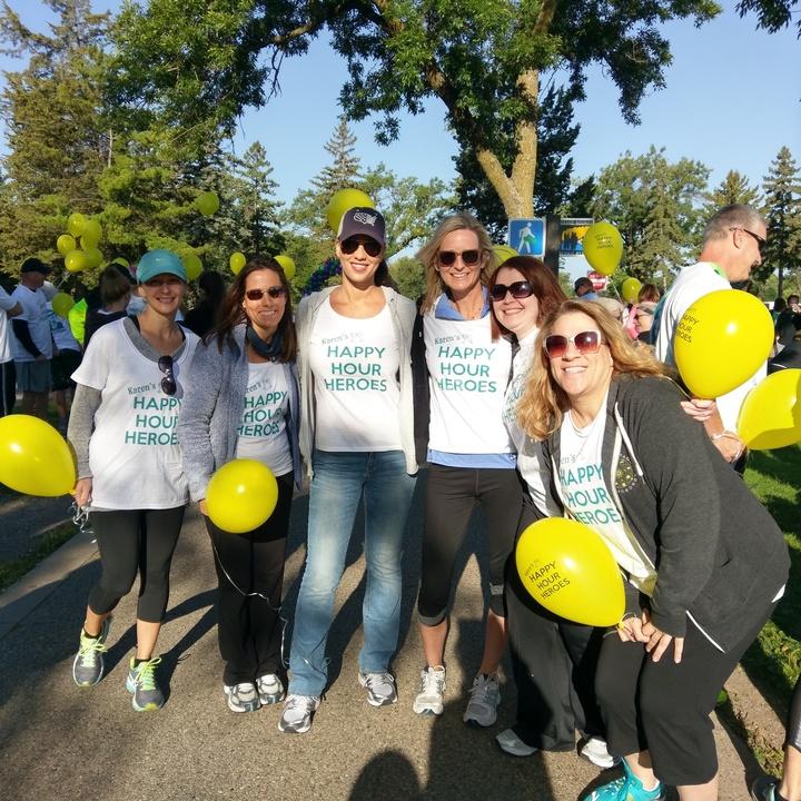 Running In Honor Of Karen T-Shirt Photo