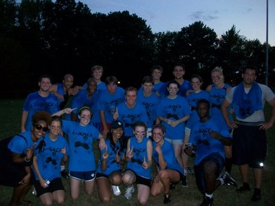 L Sack Intramural Team Defeats #1 Seed T-Shirt Photo