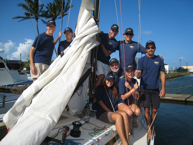 Sailing In Kauai T-Shirt Photo