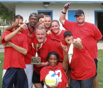 """Fiya"" Wins 2009 Ccna Volleyball Tournament T-Shirt Photo"
