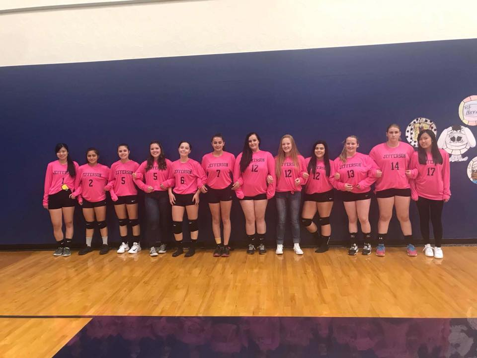 b15b0e03 Custom T-Shirts for Pink Out Volleyball Game - Shirt Design Ideas