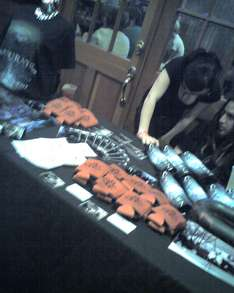 Saturate Merch Table T-Shirt Photo