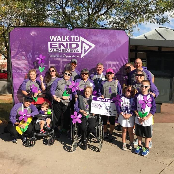 Alzheimer's Association Walk To End Alzheimer's T-Shirt Photo