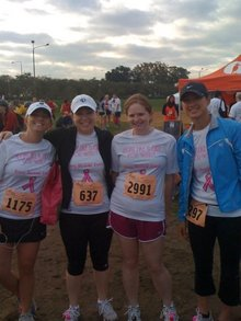 Race For The Cure! T-Shirt Photo
