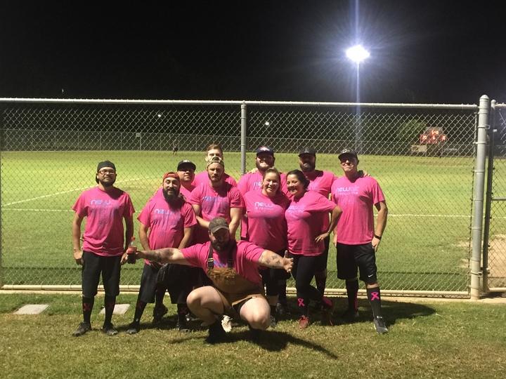 New Air Company Softball Team T-Shirt Photo
