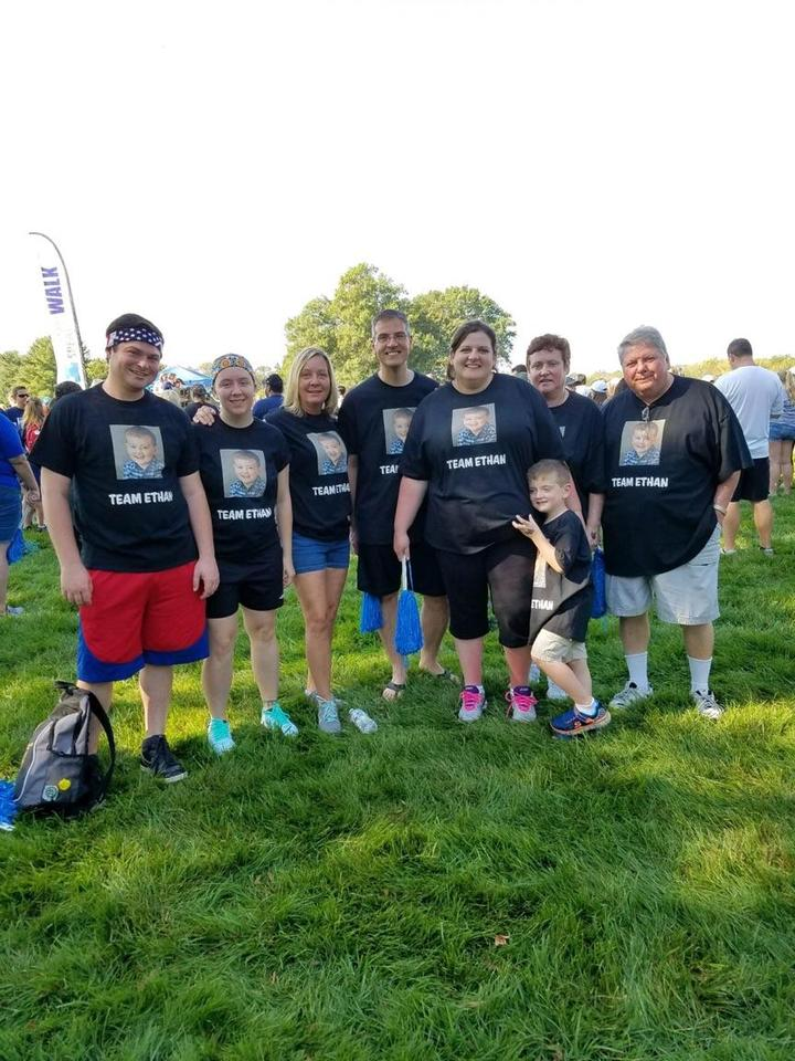 Team Ethan  Autism Speaks Walk Princeton, Nj  T-Shirt Photo