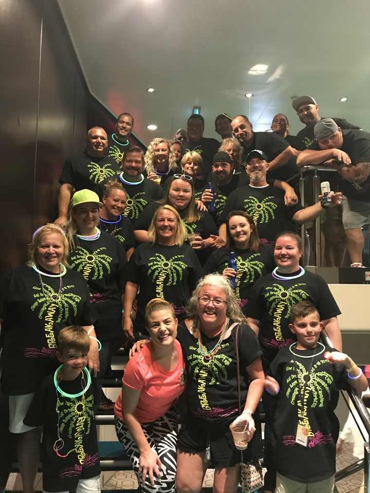 Cruise Glow Party  T-Shirt Photo