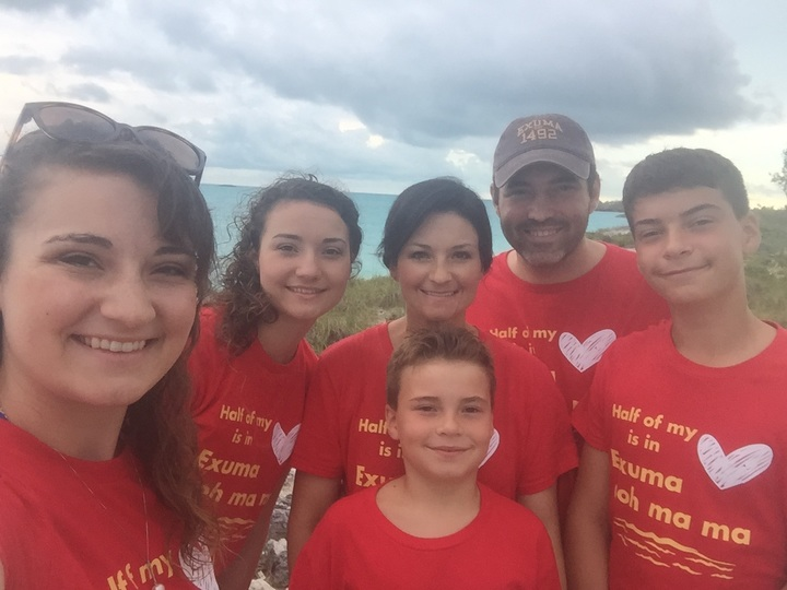 Gallagher Family Vacation T-Shirt Photo