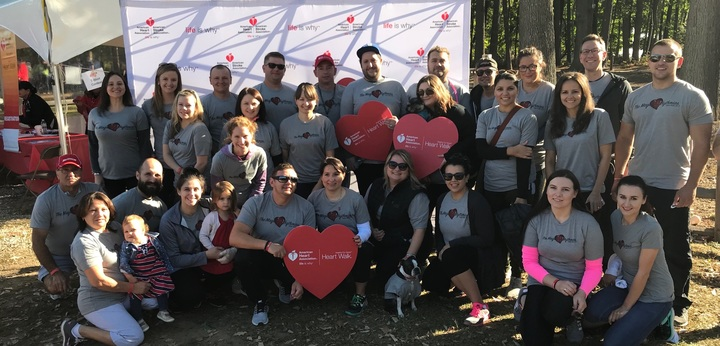 Heart walk team names