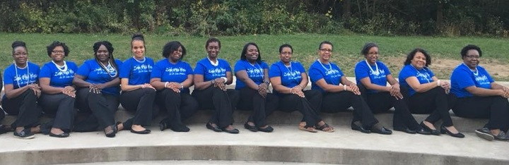 Zeta Phi Beta Sorority, Inc  Xi Pi Zeta Chapter T-Shirt Photo