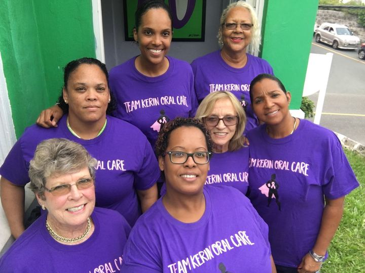 Team Koc Walks For Breast Cancer! T-Shirt Photo