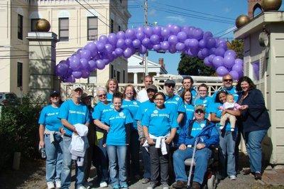 2009 Walk To End Alzheimer's T-Shirt Photo