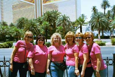 The Birthday Club Girls On The Strip T-Shirt Photo