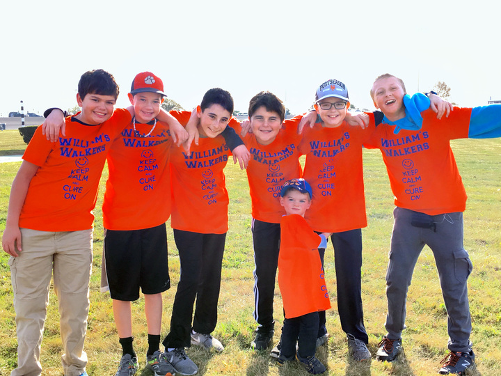 Great Friends At The Jdrf Walk! T-Shirt Photo
