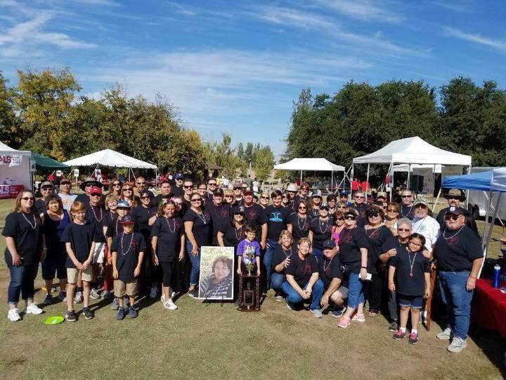 Dee's Bling Team Celebrating Winning The Spirit Award T-Shirt Photo