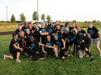 Juniors Powderpuff 2009 T-Shirt Photo