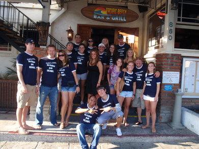 Pete's 28th Birthday Pub Crawl T-Shirt Photo