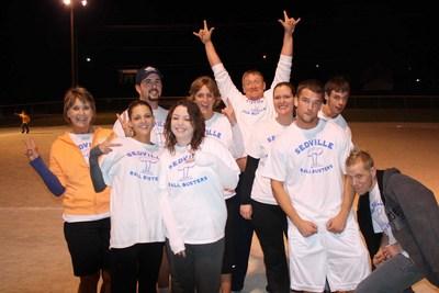 Kickballers For Customink! T-Shirt Photo